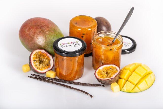 175 g Confiture džem (mango / mučenka / madagarská vanilka)