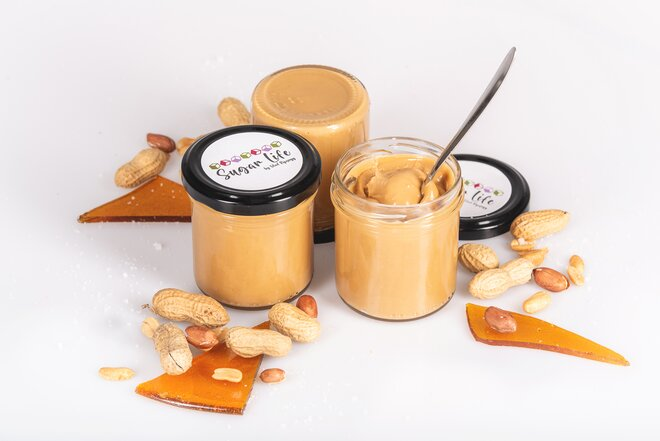 150 g Arašidový krém s karamelom a soľou