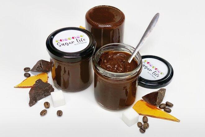 150 g Čokoládový karamel s kávou