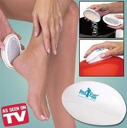 Ped Egg - ergonomická pemza na chodidlá, 2 kusy