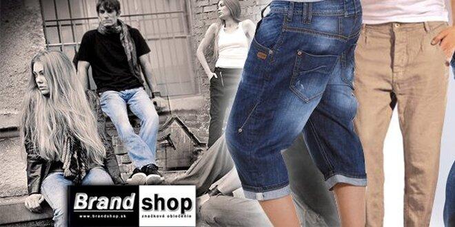 Vyskladajte si zľavu na Vaše nové štýlové džínsy GANG !
