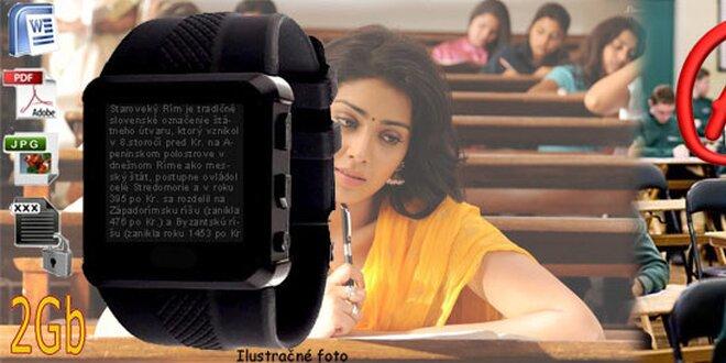 Ťahák v hodinkách