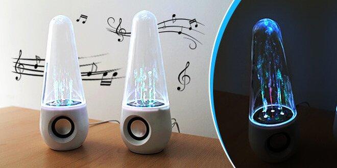 Očarujúce svietiace LED reproduktory
