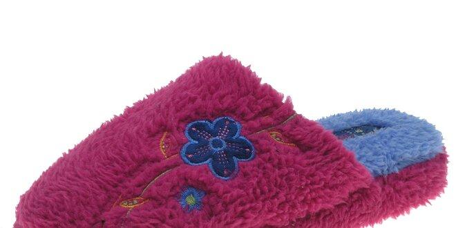 Dámske ružové voňavé papuče Beppi