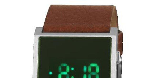 Pánske hranaté digitálne hodinky Axcent