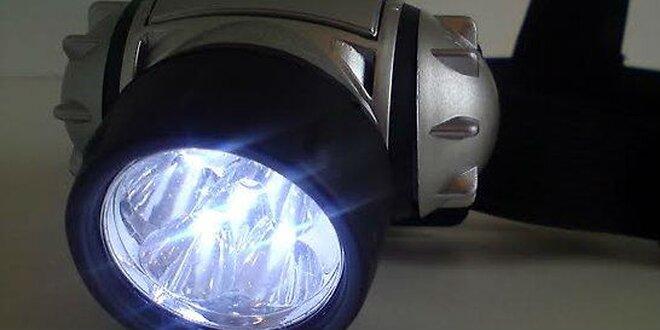 Čelovka s LED svetlami