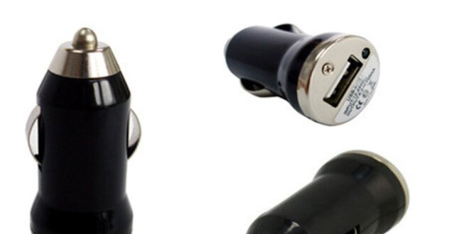Univerzálna mini USB autonabíjačka