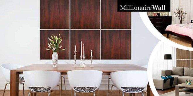 4 dizajnové panely Millionaire Wall