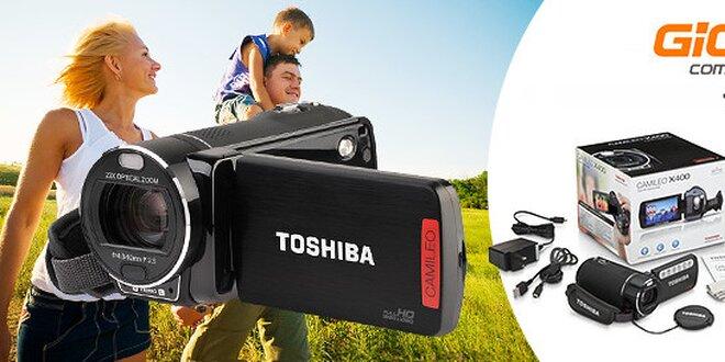 Full HD videokamera Toshiba Camileo X400