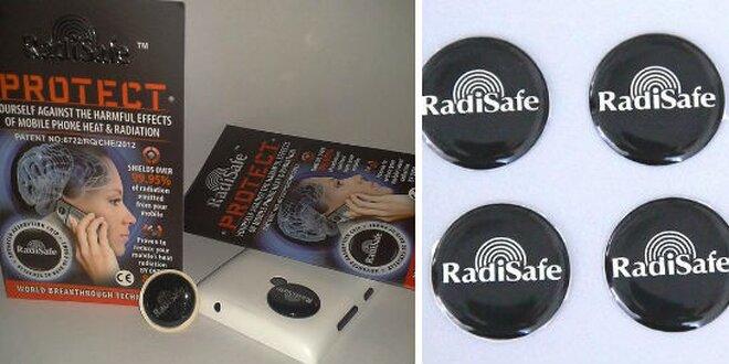 Radisafe - čip na mobil, ktorý neutralizuje žiarenie EMF (elektrosmog)