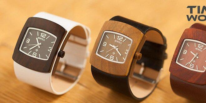 Exkluzívne hodinky zo santalového dreva