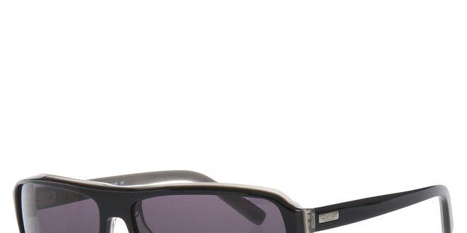 Pánske čierne slnečné okuliare Calvin Klein  de316bfebec