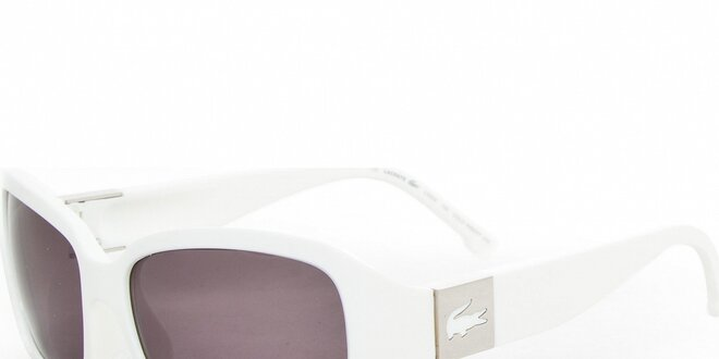 79ee9cd2a Dámske biele slnečné okuliare Lacoste | Zlavomat.sk