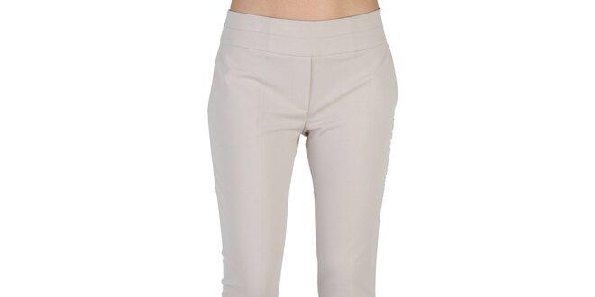 Dámske svetlo béžové nohavice Bonavita