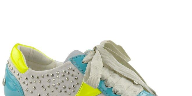 0fce0ff3c538 Dámske farebné tenisky s cvokmi Blink