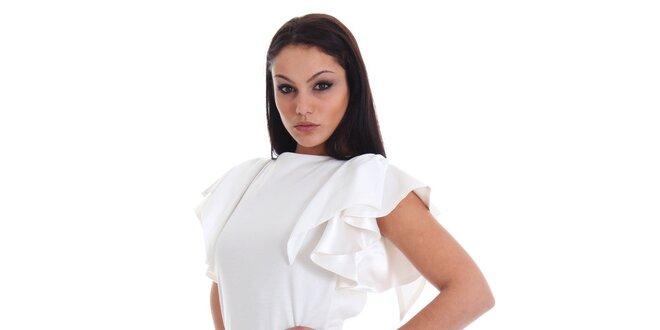 Dámske čierno-biele šaty SforStyle
