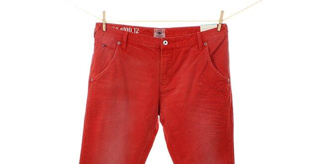 Pánske červené džínsy Tommy Hilfiger