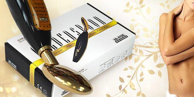 Galvanická žehlička na tvár Golden Spoon