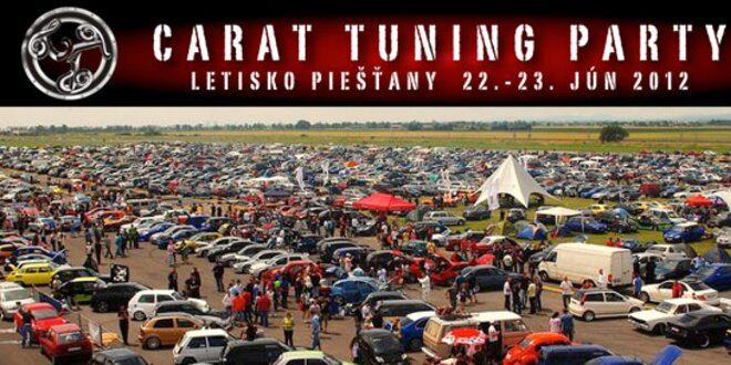 Vstupenka na CARAT Tuning party