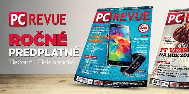 Ročné predplatné PC Revue!