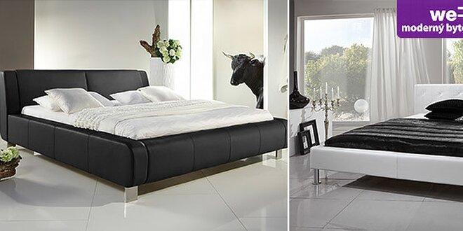 Nádherné kožené a koženkové postele