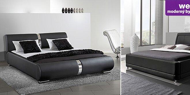 Nádherné koženkové a kožené postele