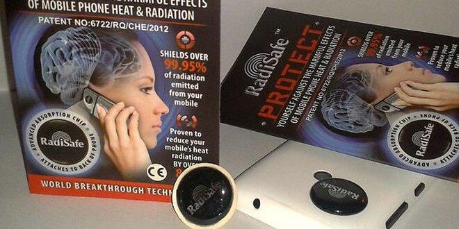 Radisafe - čip na mobil, ktorý neutralizuje žiarenie EMF (elektrosmog),…
