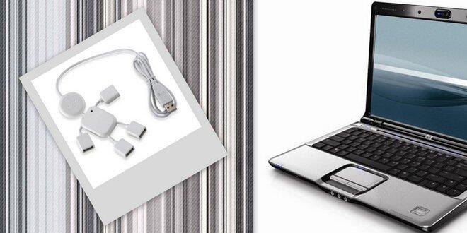 USB hub biely panáčik