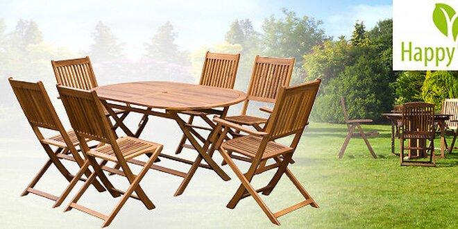 7dielny set zahradného nábytku CAROLINA