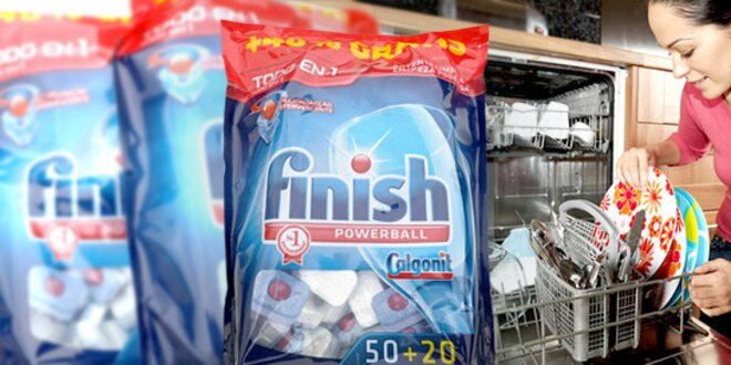 Tablety Calgonit Finish All do umývačky riadu
