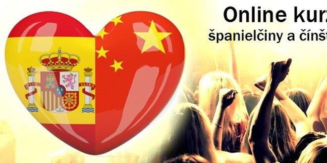 Španielčina a čínština online pre začiatočníkov