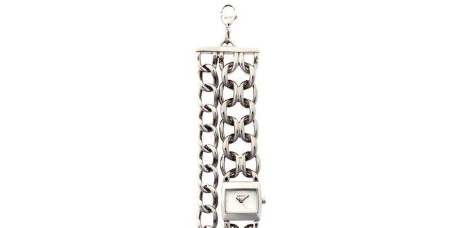 Dámske retiazkové hodinky z nerezovej ocele DKNY