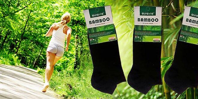 Členkové bambusové ponožky