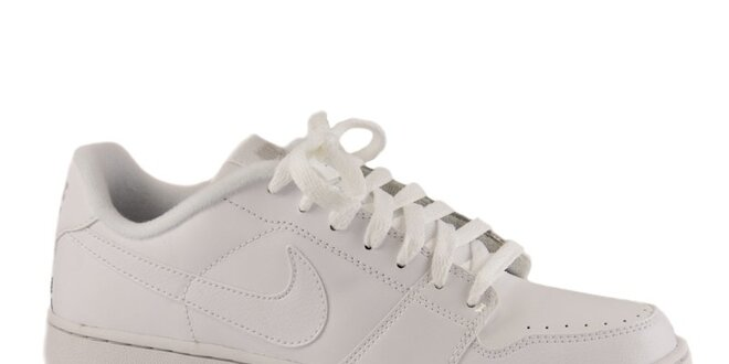 74f8e4ed5aa Dámske biele kožené tenisky Nike