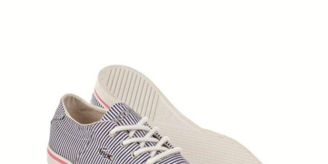 f22ad94c57 Dámske námornícke modro-biele tenisky Lacoste