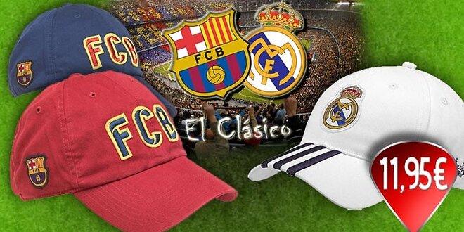 Šiltovka FC Barcelona alebo Real Madrid!