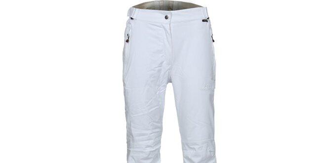 4e9c7db35e Dámske biele lyžiarske nohavice Bergson
