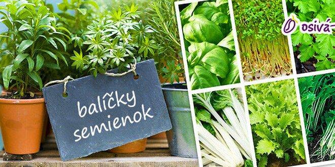 Semienka zeleniny, byliniek a klíčky