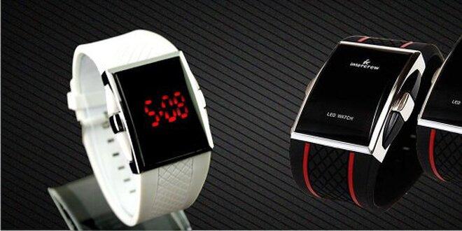 Skvelé LED silikónové hodinky - poštovné v cene !