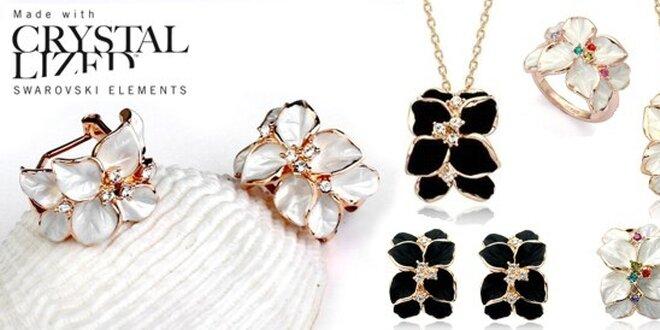 Privítajte jar s nežnými kvetovanými šperkami Swarovski Elements