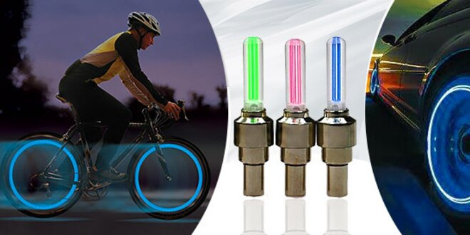 Štýlová LEDka na kolesá