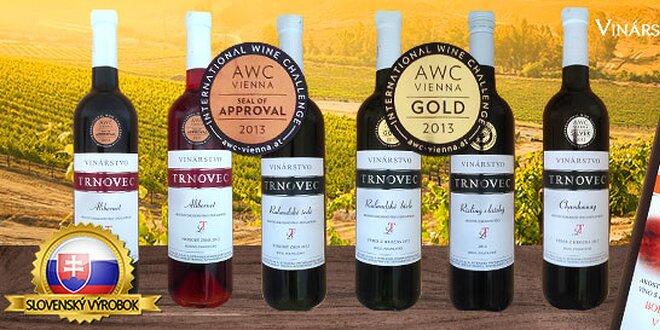 Výber 6 skvelých vín