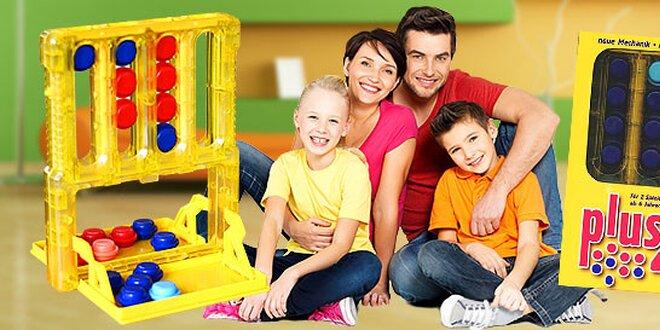 Zábava pre celú rodinu s hrou Plus 4