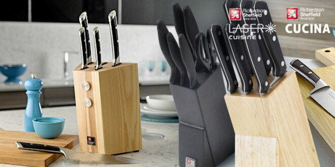 Sady luxusných nožov Richardson Sheffield