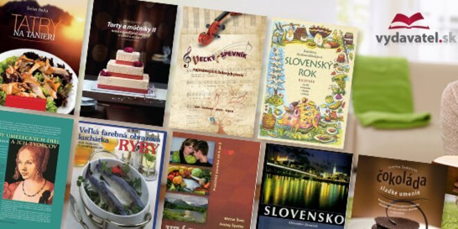 Knihy plné receptov i umenia