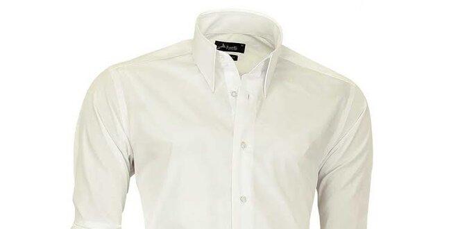 Pánska krémovo biela košeľa Pontto