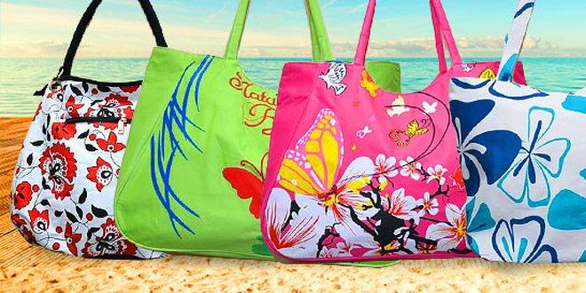 Plážové tašky s potlačou aj s doručením