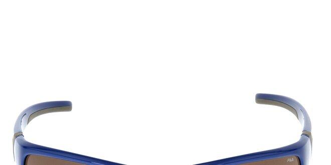 Modré športové slnečné okuliare Fila