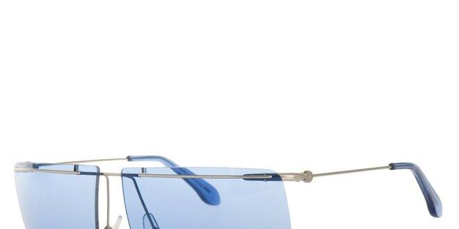 Pánske slnečné okuliare s modrými sklíčkami Calvin Klein