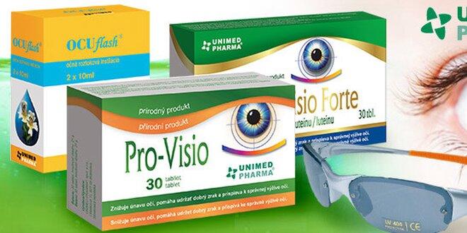 Letný balíček prípravkov pre Váš lepší zrak